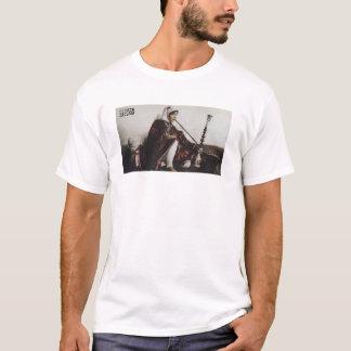 Camiseta T-shirt do branco do fumador do cachimbo de água