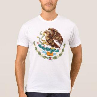 Camiseta T-shirt do branco dos homens da brasão de México