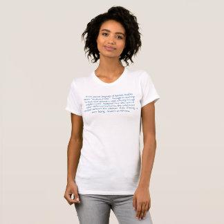 Camiseta T-shirt do Buddha das mulheres