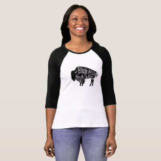 Camiseta T-shirt do búfalo do bisonte de Black Hills South
