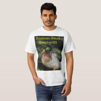 Camiseta T-shirt do caçador do pato de Kansas