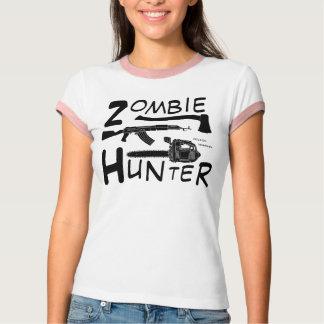Camiseta T-shirt do caçador do zombi
