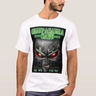 Camiseta T-shirt do café do Chupacabra (alienígena)