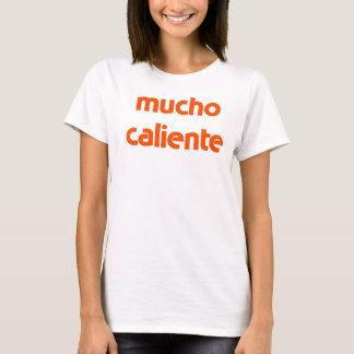 Camiseta t-shirt do caliente do mucho