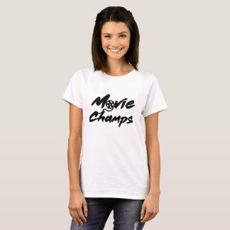 Camiseta T-shirt do campeão do filme das mulheres