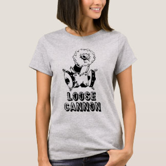 Camiseta T-shirt do canhão fraco - mulheres