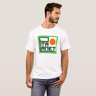 Camiseta T-shirt do cano principal do planeta do pão árabe