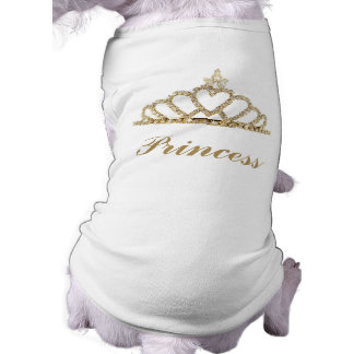 Camiseta T-shirt do cão da princesa