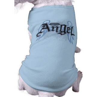 Camiseta T-shirt do cão do anjo