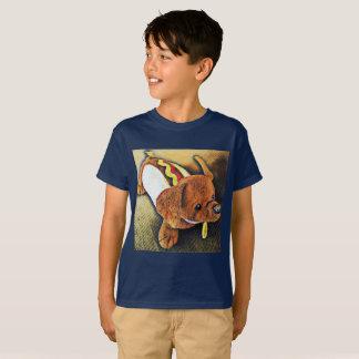 Camiseta T-shirt do cão do Hotdog