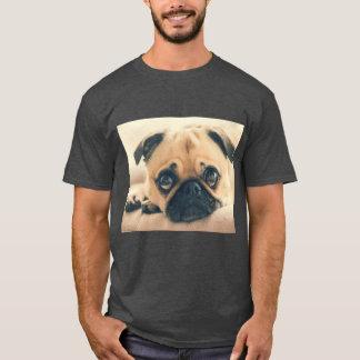 Camiseta T-shirt do cão do Pug