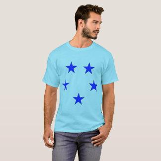 Camiseta T-shirt do capitão Corajoso