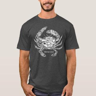 Camiseta T-shirt do caranguejo com opção do texto
