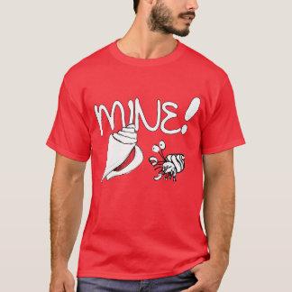Camiseta T-shirt do caranguejo de eremita