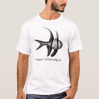 Camiseta T-shirt do Cardinalfish de Banggai do recife de