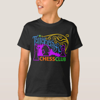 Camiseta T-shirt do carnaval do clube de xadrez de