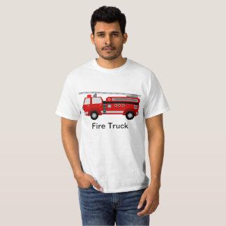 Camiseta T-shirt do carro de bombeiros