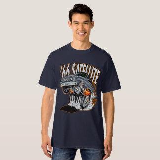 Camiseta T-shirt do carro do músculo de 1966 satélites