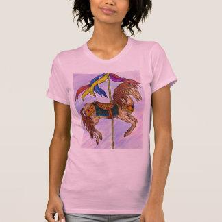 Camiseta T-shirt do carrossel das senhoras