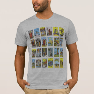 Camiseta T-shirt do cartão de Tarot