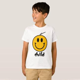 Camiseta T-shirt do casal da família dos miúdos do smiley