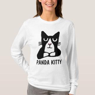 Camiseta T-shirt do CAT do SMOKING, GATINHO da PANDA