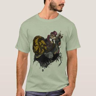 Camiseta T-shirt do cavaleiro do caracol