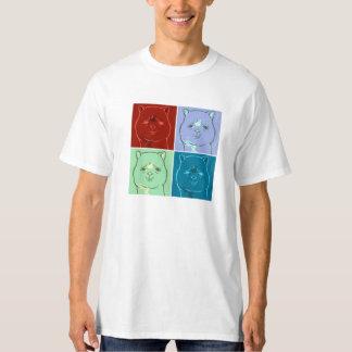 Camiseta T-shirt do cavalo da Grama-Lama