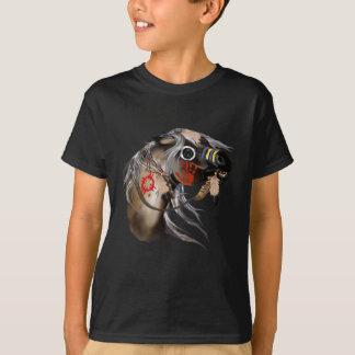 Camiseta T-shirt do cavalo de guerra