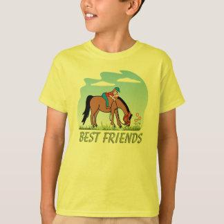 Camiseta T-shirt do cavalo dos melhores amigos