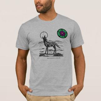 Camiseta T-shirt do chacal do Peyote