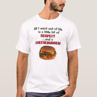 Camiseta T-shirt do cheeseburger