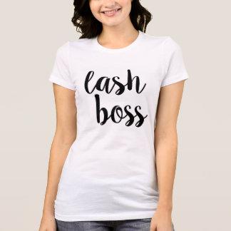 Camiseta T-shirt do chefe do chicote