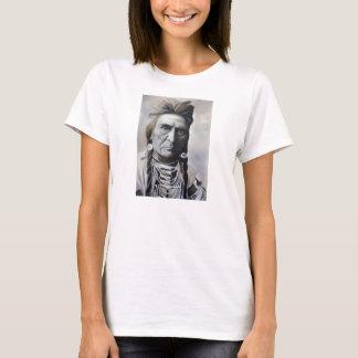 Camiseta T-shirt do chefe tribal do nativo americano das