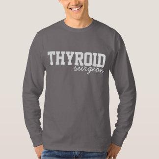 Camiseta T-shirt do cirurgião do tiróide
