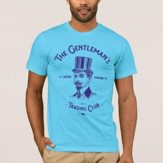 Camiseta T-shirt do clube da troca do cavalheiro -