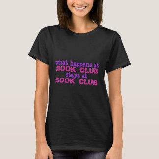 Camiseta t-shirt do clube de leitura