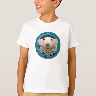 Camiseta T-shirt do clube do rato de Marty (tamanho dos