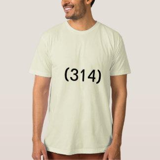 Camiseta T-shirt do código de área do Saint Louis
