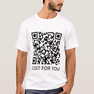 Camiseta T-shirt do código de barras de MC