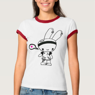 Camiseta T-shirt do coelho da rocha