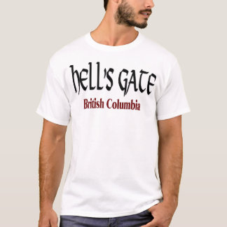 Camiseta T-shirt do Columbia Britânica da porta do inferno