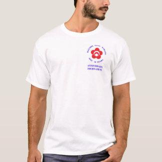 Camiseta T-shirt do competiam dos homens, logotipo somente