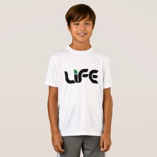 Camiseta T-shirt do concorrente do Esporte-Tek da vida dos