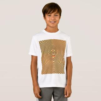 Camiseta T-shirt do concorrente do Esporte-Tek dos miúdos