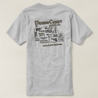 Camiseta T-shirt do Condado de Pickens GA