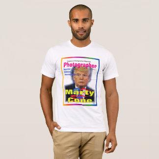 Camiseta T-shirt do cone de Marty