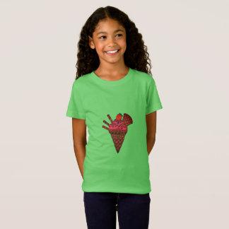 Camiseta T-shirt do cone do sorvete