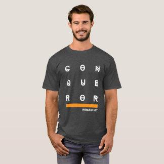 Camiseta T-shirt do conquistador
