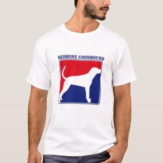 Camiseta T-shirt do Coonhound de Redbone da liga principal